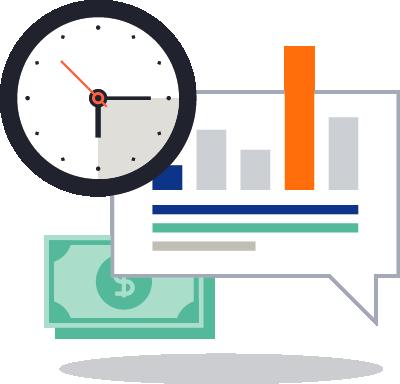 Des économies de temps et d'argent